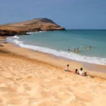 Las bellas playas de Punta Gallinas
